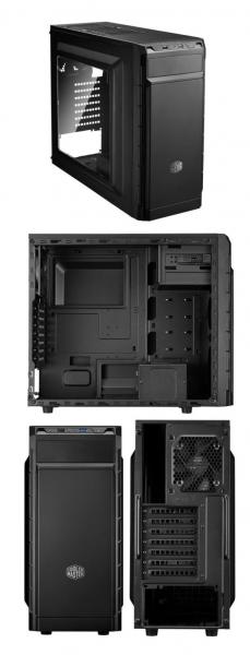 Cmp501 Atx With Side Window Built-in Elite V3 CMP-501-1NWRA60-AU
