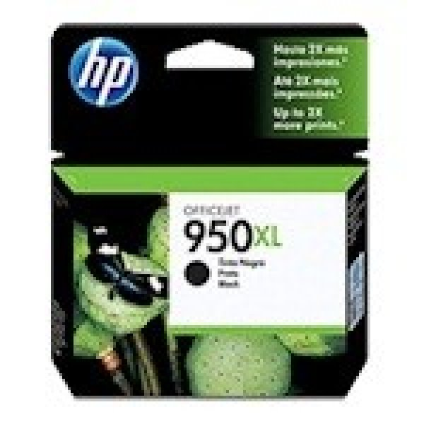 HP  950xl Black Ink 2300 Page Yield For Oj Pro CN045AA