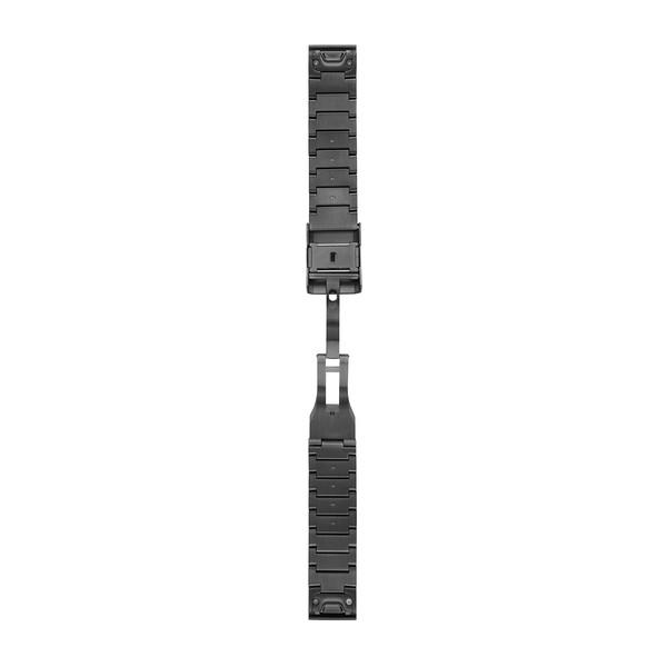 GARMIN Quickfet 22 Watch Bands Carbon Gray Dlc Titanium (010-12740-02)