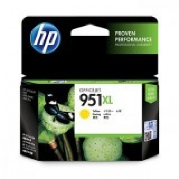 HP  951xl Yellow Ink 1500 Page Yield For Oj CN048AA