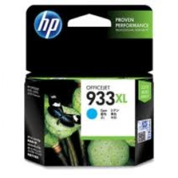 HP  933xl Cyan Ink 825 Page Yield For Oj 6600 CN054AA