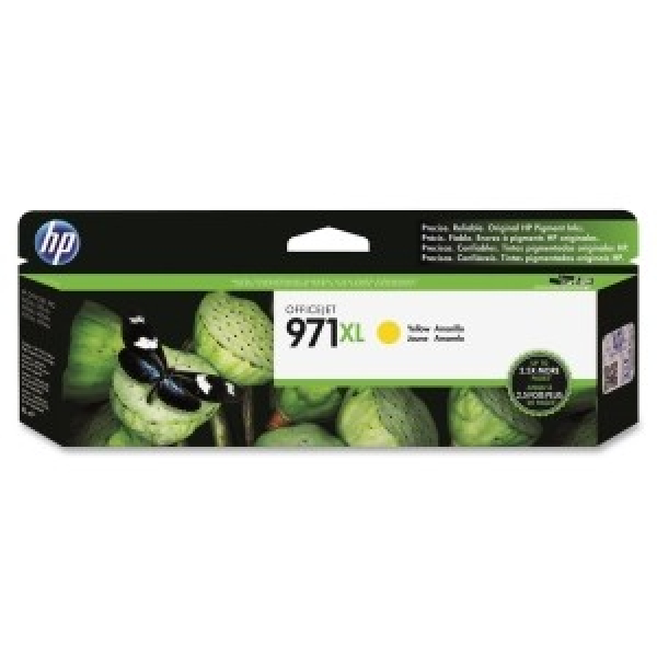 HP  971xl Yellow Ink Cart For Officejet CN628AA