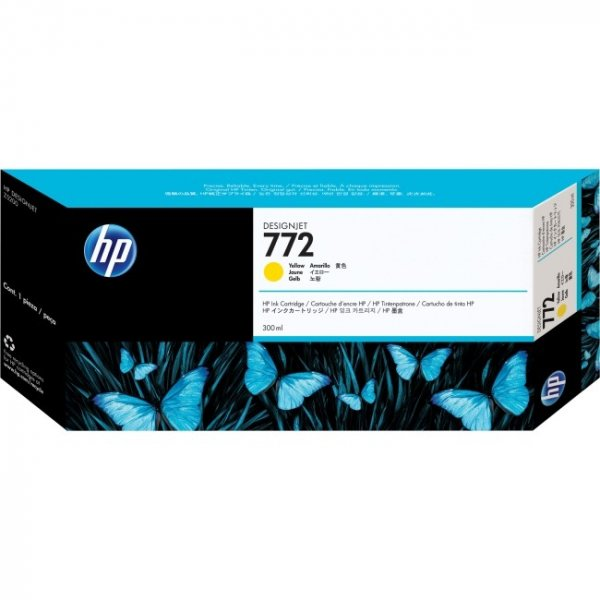 HP  772 Yellow 300 Ml CN630A