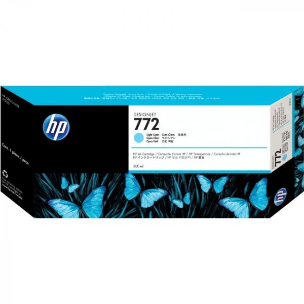 HP  772 Light Cyan 300 Ml CN632A