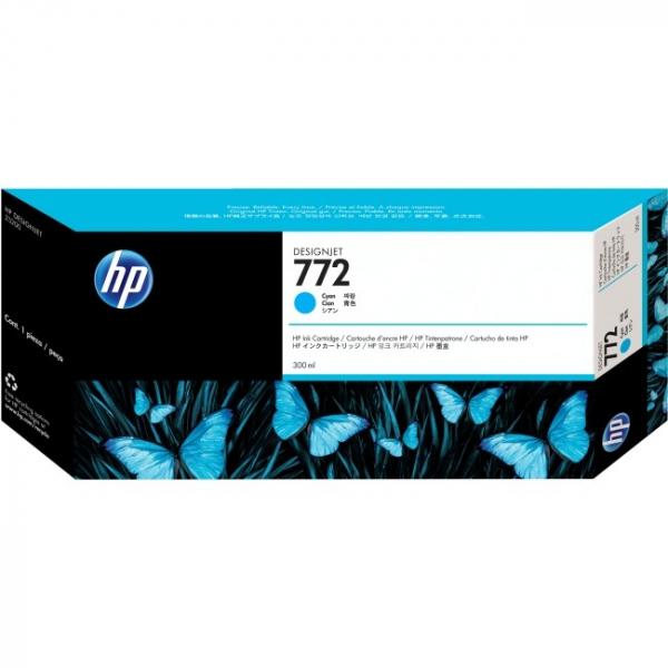 HP  772 Cyan 300 Ml CN636A