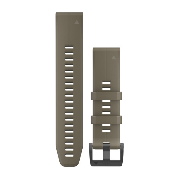 GARMIN Quickfet 22 Watch Bands Coyote Tan Silicone (010-12740-05)