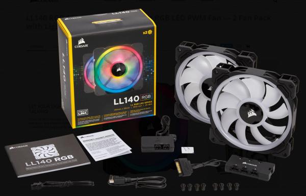 CORSAIR  Ll Series Ll140 Rgb 140mm Dual Light CO-9050074-WW