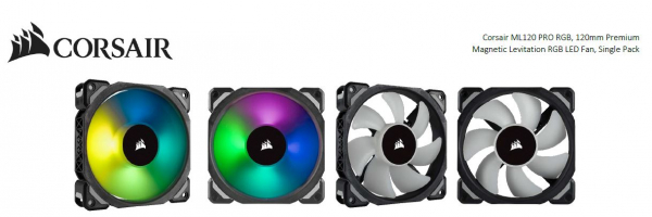 CORSAIR  Ml120 Pro Rgb 120mm Premium Magnetic CO-9050075-WW
