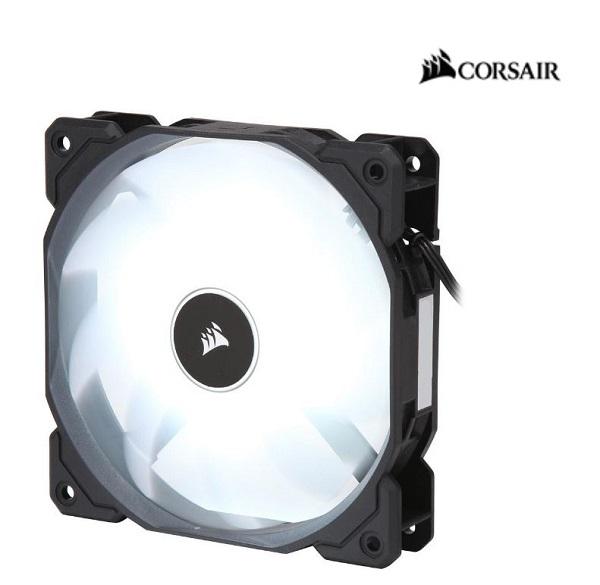 Corsair  Air Flow 120mm Fan Low Noise Edition / White LED ( Co-9050079-ww )