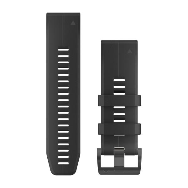 Garmin Quickfet 26 Watch Bands Black Silicone ( 010-12741-00 )