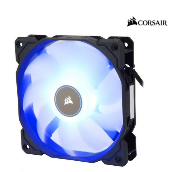 Corsair  Air Flow 120mm Fan Low Noise Edition / Blue LED ( Co-9050081-ww )