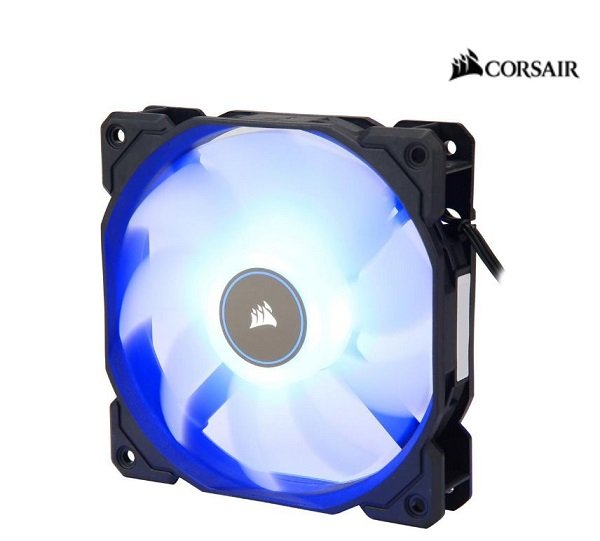 Corsair  Air Flow 120mm Fan Low Noise Edition / White Blue ( Co-9050084-ww )