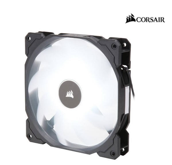 Corsair  Air Flow 140mm Fan Low Noise Edition / White LED ( Co-9050085-ww )