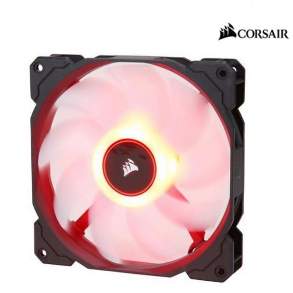 Corsair  Air Flow 140mm Fan Low Noise Edition / Red LED ( Co-9050086-ww )