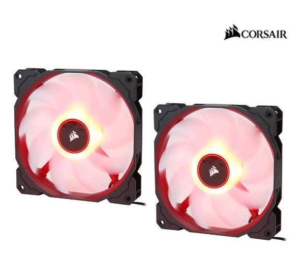 Corsair  Air Flow 140mm Fan Low Noise Edition / Red LED ( Co-9050089-ww )