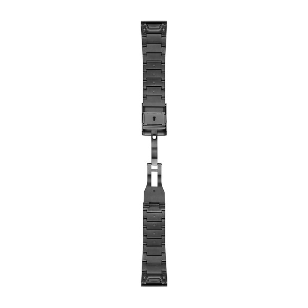 Garmin Quickfet 26 Watch Bands Carbon Gray Dlc Titanium ( 010-12741-01 )