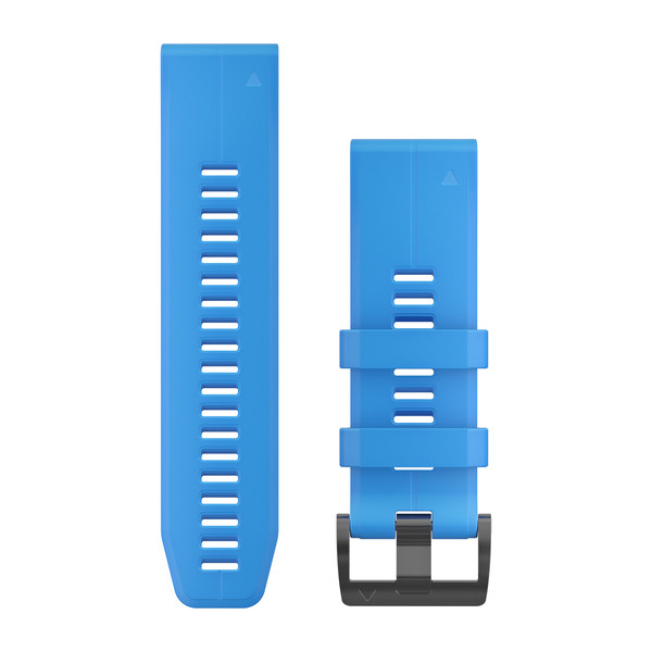 GARMIN Quickfet 26 Watch Bands Cyan Blue Silicone (010-12741-02)