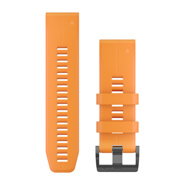 GARMIN Quickfet 26 Watch Bands Solar Feare Orange Silicone (010-12741-03)