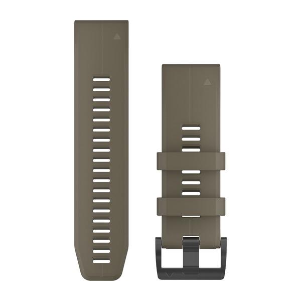 Garmin Quickfet 26 Watch Bands Coyote Tan Silicone ( 010-12741-04 )