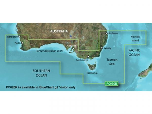 GARMIN Bluechart G2 Vision Micro/SD Brisbane SW (010-C0753-00)