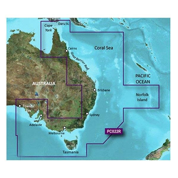 GARMIN Bluechart G2 Vision East Coast of Australia (010-C0756-00)