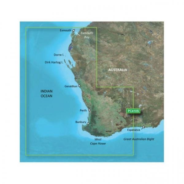 GARMIN Bluechart G2 Vision Microsd Esperance To Exmouth Bay (010-C0868-00)