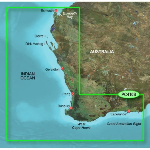 GARMIN G2 HD Micro/SD  Esperance to Exmouth Bay (010-C0868-20)