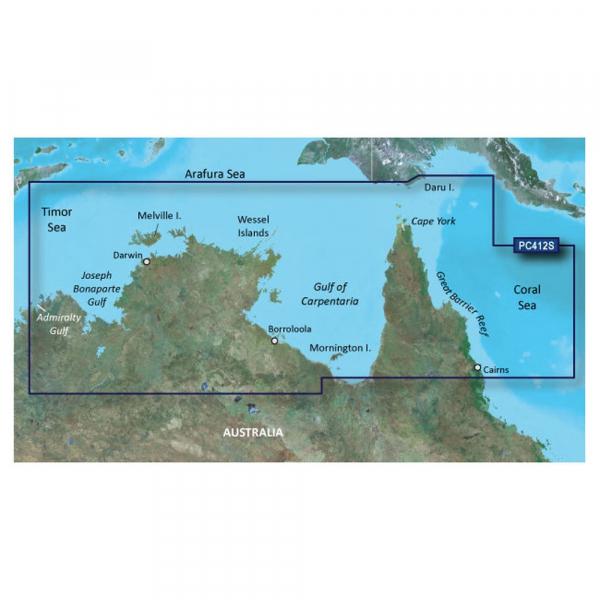 GARMIN G2 Vision HD MicroSD Admiralty G. WA to Cairns (010-C0870-00)