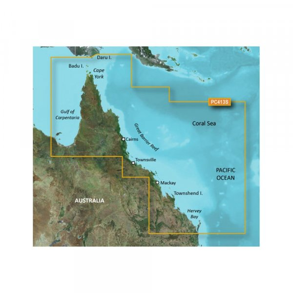 GARMIN BlueChart G2 HD - Mornington Island MicroSD/SD (010-C0871-20)