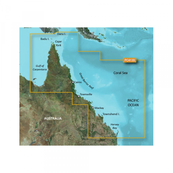 GARMIN BlueChart G2 HD - Mornington Island MicroSD/SD (010-C0871-20)