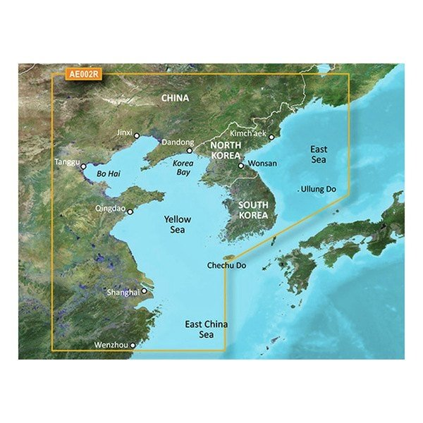 GARMIN VAE0002R - Yellow Sea - SD Card Bluechart G2 Vision (010-C0877-00)
