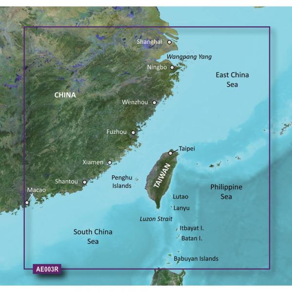 GARMIN Bluechart G2 Vision VAE003R Taiwan Micro/SD (010-C0878-00)