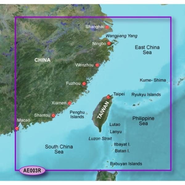 GARMIN G2 Micro/SD Taiwan Bluechart With SD Adaptor (010-C0878-20)