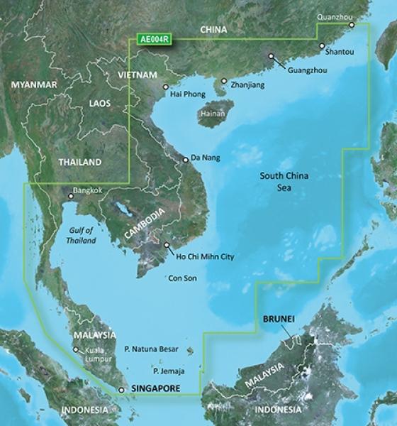 GARMIN G2 Microsd/SD Hong Kong/South China Sea (010-C0879-20)
