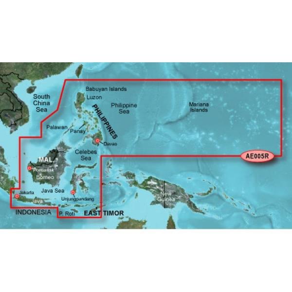 GARMIN Bluechart Philippines-Java-Mariana Is. G2 Vision (010-C0880-00)