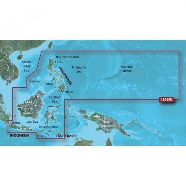 GARMIN Bluechart G2 HXAE005R Philipines Micro/SD (010-C0880-20)