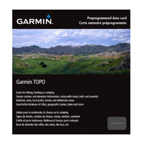 GARMIN TOPO Canada East Digital Map (010-C1009-00)