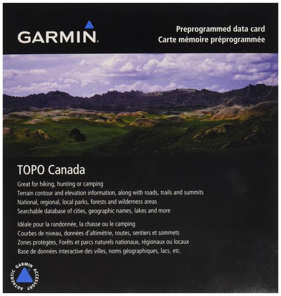 GARMIN TOPO Canada - Northwest (010-C1010-00)