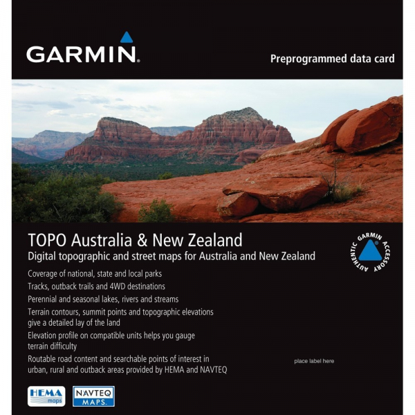 GARMIN TOPO Australia and New Zealand (010-C1049-00)