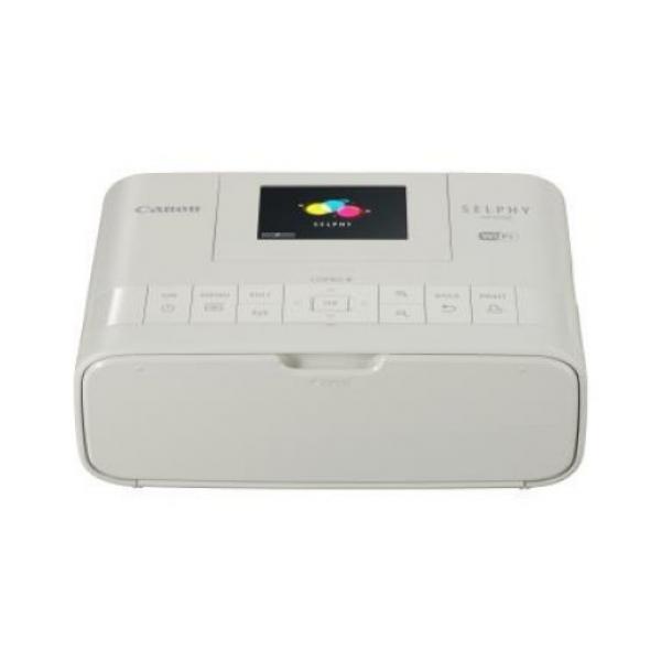 CANON White Dye-sub Compact Photo Printer Wi-fi CP1200WH