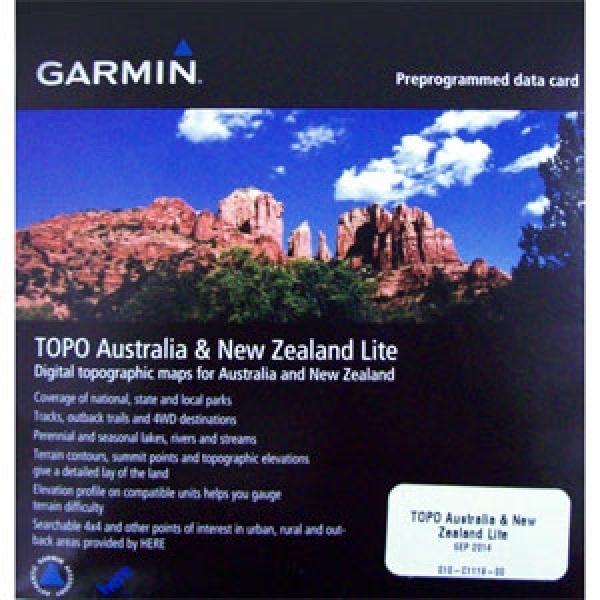 GARMIN Topo Lite Austraila & AMP New Zealand Micro/SD V6 (010-C1119-00)