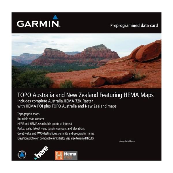 GARMIN Hema & GARMIN Topo V6 Map Card (010-C1159-00)