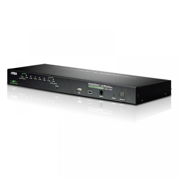 ATEN  8 Port Rackmount Usb-ps/2 Vga Kvmp Over Ip CS1708I-AT-U