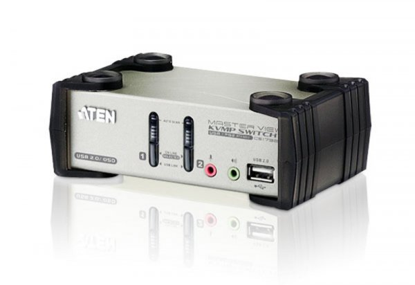 ATEN  2 Port Usb Kvmp Switch With Audio And Osd CS1732B-AT-U