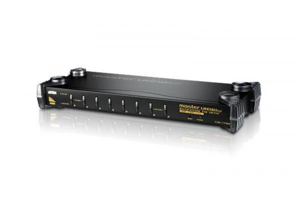 ATEN  8 Port Rackmount Ps/2-usb Kvm Switch With CS1758Q9-AT-U