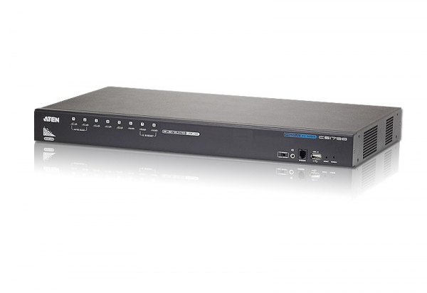 ATEN 8-port Rackmount Hdmi Kvm Switch With CS1798-AT-U