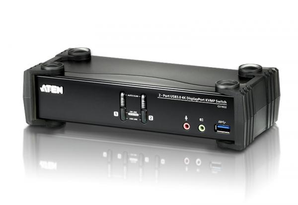 ATEN  2 Port Usb 4k Displayport Kvmp Usb 3.0 Switch CS1922-AT-U
