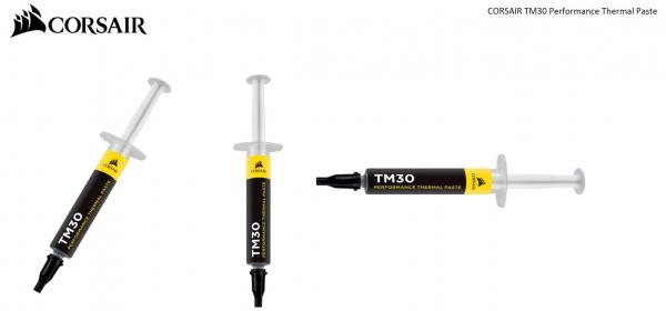 Corsair  Tm30 Performance Thermal Paste 3g. 12 Months Warrant ( Ct-9010001-ww )