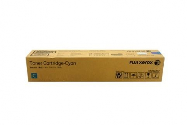 FUJI XEROX PRINTERS Cyan Toner High-yield CT202353