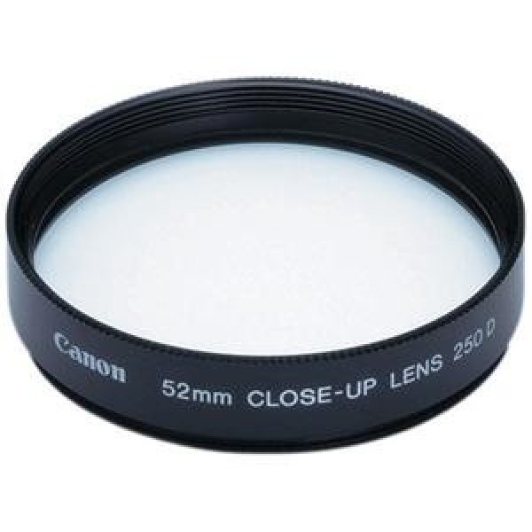 CANON 52mm Close-up Lens 250d Requires Other CU52250